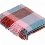 Bronte by Moon Merino Wool Throw Rome